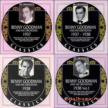 Benny Goodman - The Chronological Classics, 4 Albums (1937-1938)