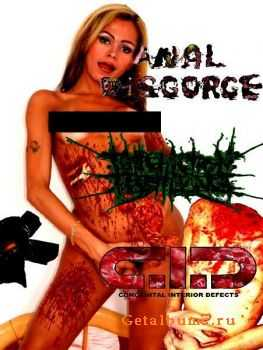 Anal Disgorge & Putrefaction Pestilence & Congenital Interior Defects - 3-Way Gays Erectos (Split) (2011)
