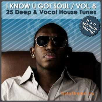 VA - I Know U Got Soul Vol 8 (25 Deep & Vocal House Tunes) (2011)