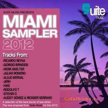 VA - Suite Music Presents Miami Sampler 2012 (2012)