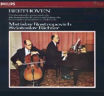 Richter & Rostropovich - Beethoven: The Sonatas for Piano and Cello (1963)