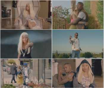 Nicki Minaj ft. Chris Brown - Right By My Side (Explicit) 2012