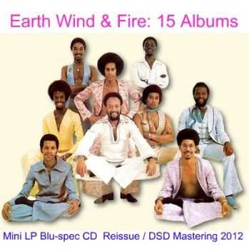 Earth Wind & Fire - 15 Albums Japan Mini LP Blu-spec CD ● DSD Mastering (2012)