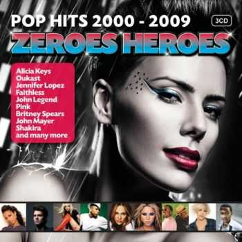 VA - Zeroes Heroes Top 50 (Pop Hits 2000-2009) (2012)