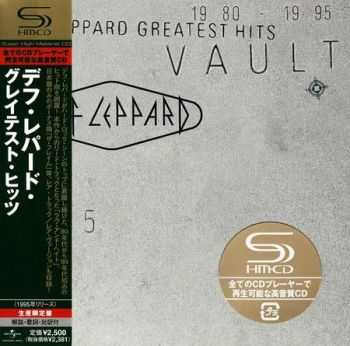 Def Leppard - Greatest Hits: Vault (Japanese Edition) 2CD (1995) (Lossless) + MP3