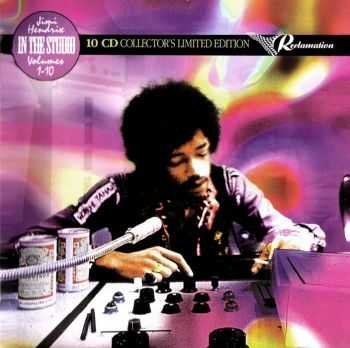 Jimi Hendrix - In The Studio Volumes 1-10 [Boxset 10 CD Limited Edition] (2007)