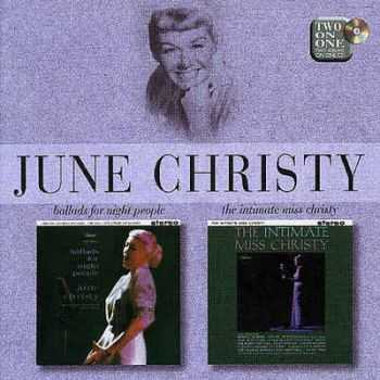 June Christy - Ballads For Night People & The Intimate Miss Christy (1998)