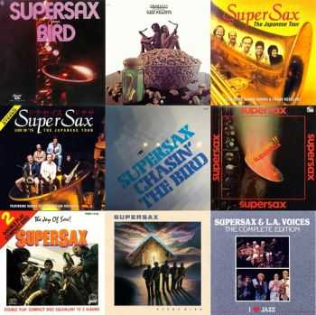 SuperSax – Collection, 9 Albums