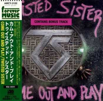 Twisted Sister - Come Out and Play (Japanese Edition) 1985 (Lossless) + MP3