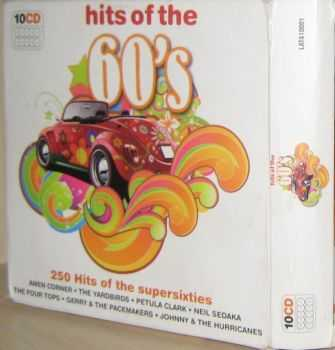 VA - Hits of the 60's [10CD BoxSet] (2009)