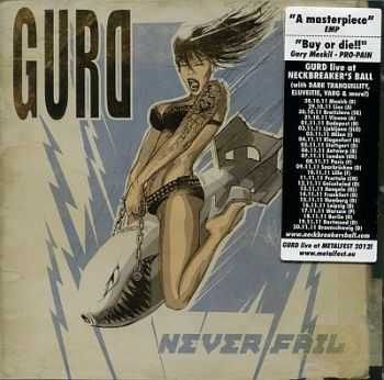 Gurd - Never Fail 2011 [LOSSLESS] [JAPAN EDITION]