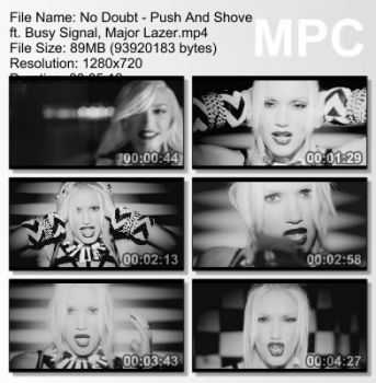 No Doubt - Push And Shove (Feat. Busy Signal & Major Lazer) [2012]