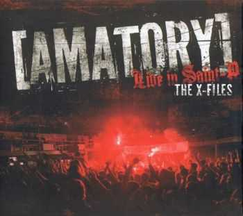 [AMATORY] - The X-Files. Live in Saint-P [2012 г., DVDRip]