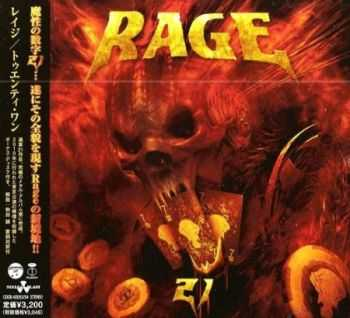 Rage - 21 (Japanese Edition) 2CD (2012) (Lossless) + MP3