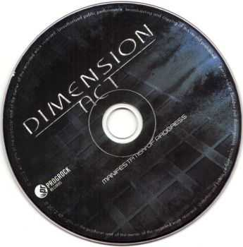 Dimension Act - Manifestation Of Progress (2012) (Lossless)