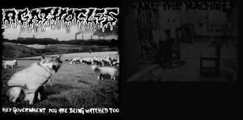 Agathocles & Wake The Machines - Hey Government You Are Being Watched Too (Split) (2011)