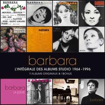 Barbara - L�intégrale des albums studio 1964-1996 (11 CD + 1 CD Bonus)