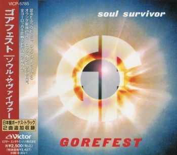 Gorefest - Soul Survivor (1996) (Japan)
