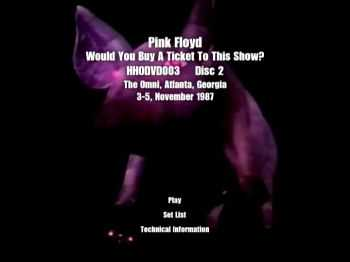 Pink Floyd - Would You Buy A Ticket To This Show? (1987) (2xDVD5)
