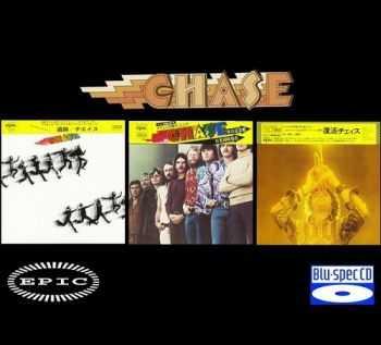 Chase - 3 Albums Mini LP Blu-spec CD (2012)