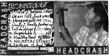 Headcrash - Hangoverdrive [demo] (2003)