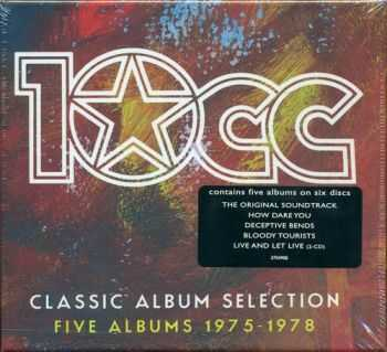 10cc - Classic Album Selection: Five Albums 1975-1978 [6CD Box Set] (2012) FLAC