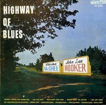 Sticks McGhee / John Lee Hooker - Highway Of Blues (1959)