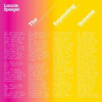 Laurie Spiegel - The Expanding Universe (Expanded Reissue) (2012)