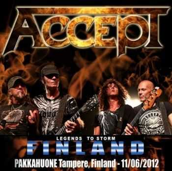 Accept - Live In Finland (2012)
