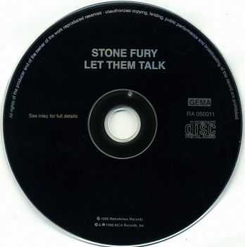 Stone Fury - Let Them Talk (1986)