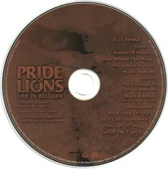 Pride Of Lions - Live In Belgium (Japanese Ed.) (2006)