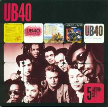 UB40 - 5 Album Set (2012) FLAC