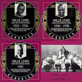 Willie Lewis And His Negro Band - The Chronological Classics, 3 Albums