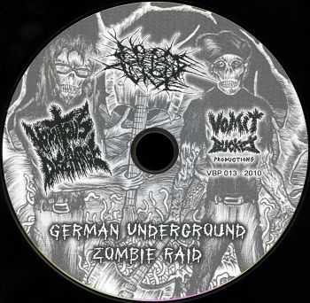 Vomitous Discharge & No One Gets Out Alive - German Underground Zombie Raid (2010)