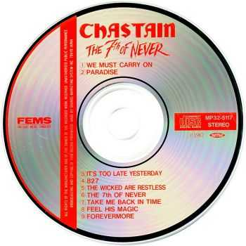 Chastain - The 7th Of Never (1987) [Japan 1st Press]