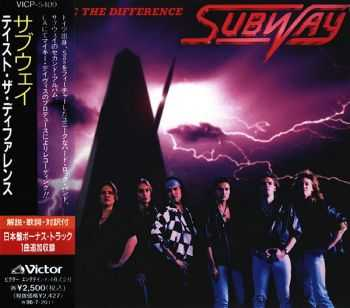 Subway - Taste The Difference (1994) [Japanese Ed.]