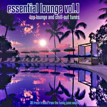 VA - Essential Lounge Vol 1 (Top Lounge & Chillout Tunes 30 Fresh Tracks From The Funky Juice Vaults) (2012)