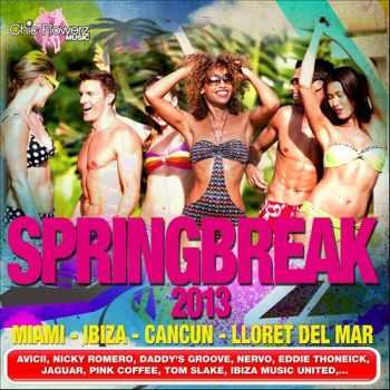 VA - Springbreak 2013 (Miami - Ibiza - Cancun - Lloret Del Mar) (2013)