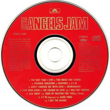Little Angels - Jam (1993) [Japanese Ed.]