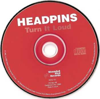 Headpins - Turn It Loud (1982) [Reissue 2006]