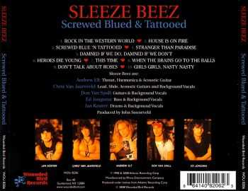 Sleeze Beez - Screwed Blued & Tattooed (1990) [Reissue 2008]