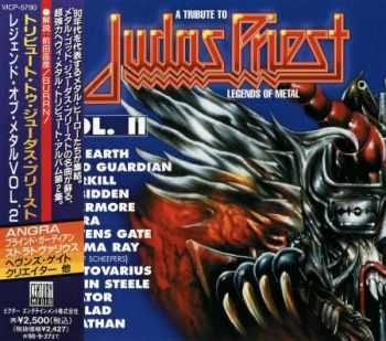 VA [Various Artists] - A Tribute To Judas Priest: Legends Of Metal [Vol.II] (Japanese Edition) 1996 (Lossless) + MP3