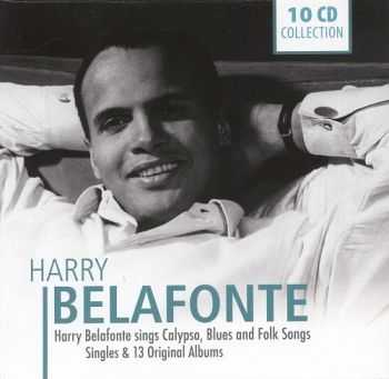 Harry Belafonte - Harry Belafonte Sings Calypso Blues & Folk Songs (10CD-BOX)