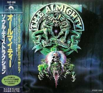 The Almighty - Soul Destruction (1991) [Japanese Ed.]