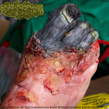 CxHxFxUxUx - Decoration of the Gangrenous Foot With Intestinal Juices (Session 13) (2013)