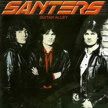 Santers - Guitar Alley (1984) [Japanese Ed. 1998]