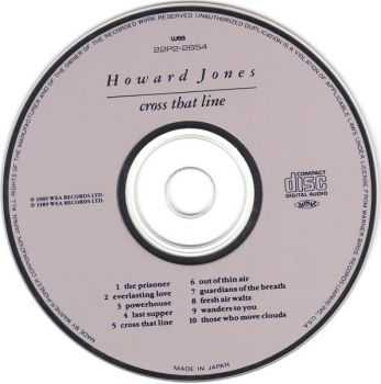 Howard Jones - Cross That Line (1989) [Japanese Ed.]