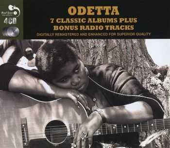 Odetta - 7 Classic Album Plus Bonus Radio Tracks [4 CD Box] (2011) FLAC