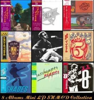 J.J. Cale    - 8CD Collection [Universal/Japan Mini LP SHM-CD 2013] (1971-1983 / 2013)