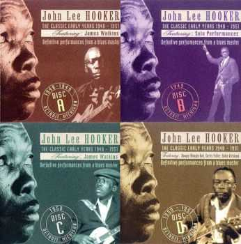John Lee Hooker - The Classic Early Years 1948-1951 (4CD Box Set)